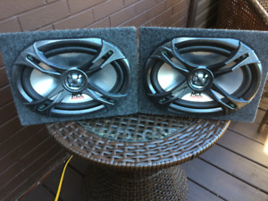 MTX Thunder Dome-Axials TDX6902 - pair of Car speakers..