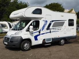Swift Escape 644, 2014, 4 Berth, U-Shaped Lounge, Over Cab Bed, Fiat 2.3TD, VGC!