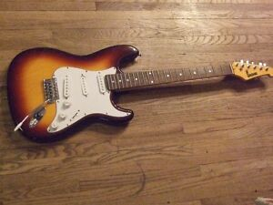 COUPLE OF ELECTRIC GUITARS;  Sale/trade