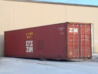 USED quality 20ft and 40ft storage sea containers