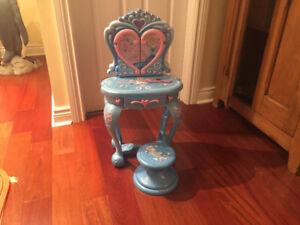 Cinderella Vanity Ser for girls  - make up table.