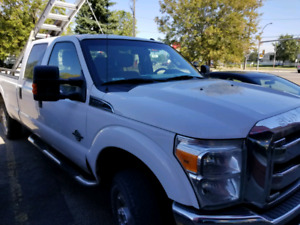 Heavy duty 2012 Ford 350 diesel with long box