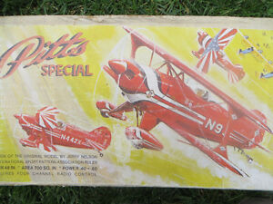 Model Plane-MIDWEST PITTS SPECIAL-Partially Built Kit
