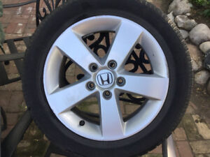 Honda rims and tires