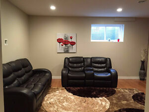Brand new basement w separate entrance,utilities included