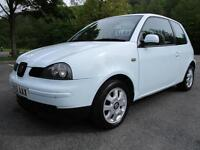 01/51 SEAT AROSA 1.0 S 3DR HATCH IN BLUE WITH ONLY 73,000 MILES