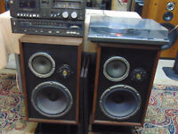stereo with turntable for a young person with limited funds