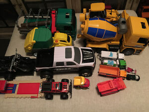 Tons of toddler boy toys- trucks trucks trucks !!!