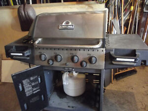 large, used Sterling propane bbq