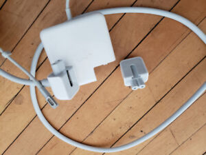 Genuine Apple 60W MagSafe charger with genuine extension cord