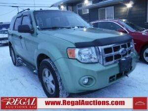 2008 Ford ESCAPE  4D UTILITY 4WD