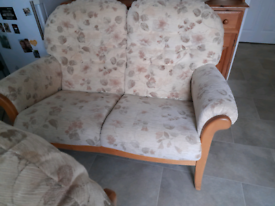 2seater sofa and 2 armchairs