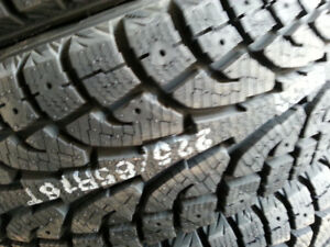 4 x new winter 225-65-R16 HANKOOK IPIKE NEUFS TAX IN