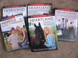 Heartland Saisons 1 a 5 - Heartland; Seasons 1 to 5