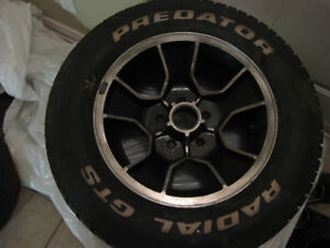 Chevy Monte Carlo SS Rims with tires (86-88 Monte)
