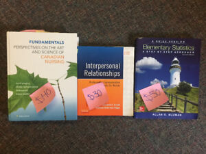First Year Lakehead University NURSING Textbooks