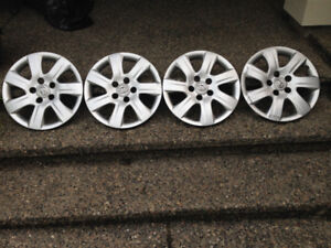 TOYOTA OEM WHEEL COVERS (4)
