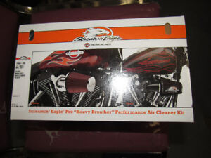 Genuine Harley Davidson Screaming Eagle Air Cleaner Kit