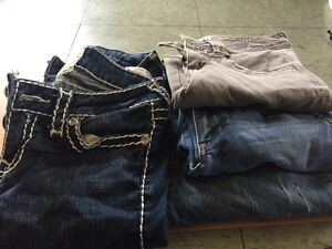 5 pairs of skinny jeans