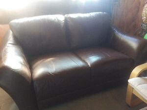 Exquisitely-Soft Leather Love Seat! (Bought for $2,500)