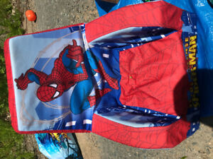 Kids Spider-Man foam chair