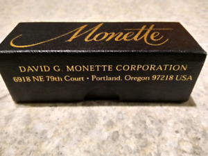 Monette Trumpet Mouthpiece