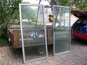 sliding door window with screen set