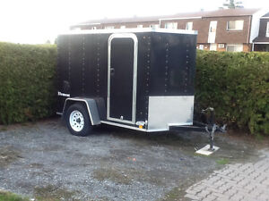 trailer look 5x8 plus v nose