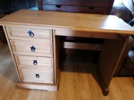 Mexican wood desk
