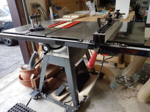 "**MINT** Craftsman 10"" 1.25 HP Upgraded Table Saw"