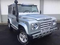 2007 07 LAND ROVER 90 DEFENDER 2.4TDI COUNTY 4 SEATER WITH LOTS OFF EXTRAS 4X4