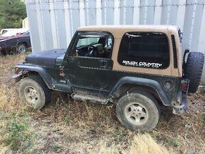 1997 Jeep TJ Sahara Other