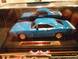 1968 Dodge Charger RT Blue - Dimension 4 Hot Pursuit Collect1:43 Sarnia Sarnia Area image 2