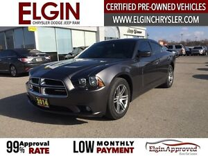 2014 Dodge Charger SXT***B-up Cam,Sunroof,Htd Seats***