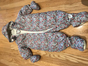 Down Snowsuit (6-12m)