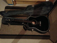 Two Acoustic Guitars and One Electric Guitar Yamaha - FOR SALE