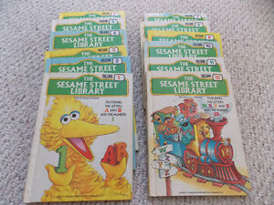 Vintage Books - The Complete Set of the Sesame Street Library