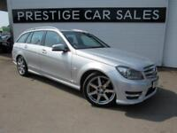 2012 Mercedes-Benz C Class 1.8 C180 BlueEFFICIENCY Sport G-Tronic 5dr Petrol sil