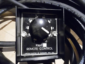 Lincoln welding machine remote control  25 ft and 100ft New K857 Kitchener / Waterloo Kitchener Area image 2