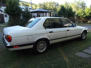 BWM 740il 1993 blanche originale tout équipé