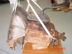 87 Ford F250 Borg Warner T18 4-speed transmission