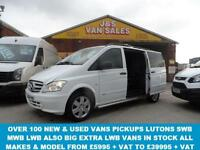 2014 64 MERCEDES-BENZ VITO DUALINER 116 CDI DUALINER SPORT 163 BHP LWB IN PURE