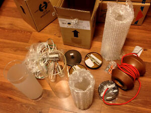 HIGH-END LIGHTING FIXTURE PARTS FOR DIY PROJECT