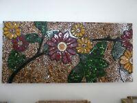 Mozaic style art work (47 x 22)