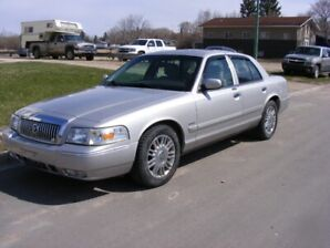 2008 GRAND MARQUIS, LIKE NEW, LOW 78OOOKM, ULTIMATE EDITION, LEA