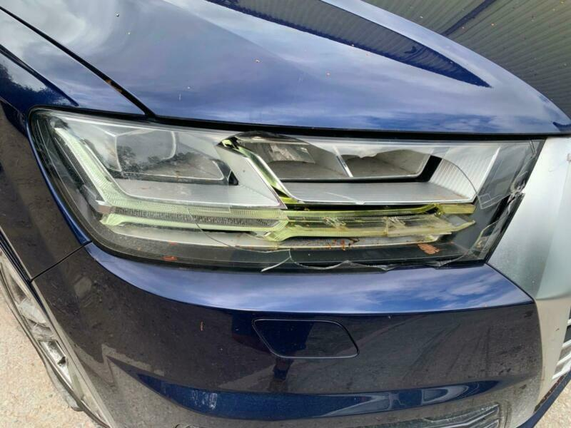 2018 68 AUDI Q7 S LINE 50 3 0 TDI ACCIDENT DAMAGED REPAIRABLE SALVAGE | in  Macclesfield, Cheshire | Gumtree