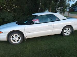 1997 Chrysler Sebring Convertible - $3700 O.B.O.