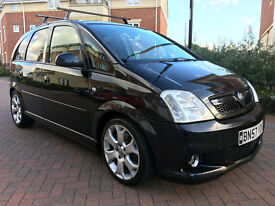 Vauxhall Meriva 1.6I 16V TURBO VXR 180PS (black) 2007