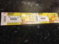 2 x V Festival day tickets Sunday at Hylands Park