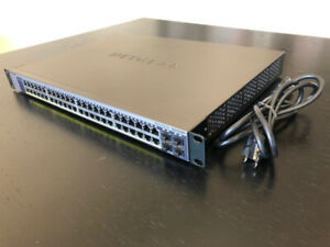 Netgear GS752TP 52-Port Gigabit Ethernet PoE/PoE+ Smart Switch